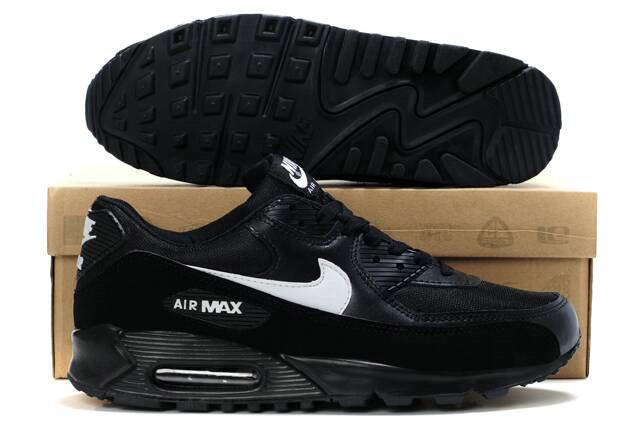 online store 643d2 8ac25 Chaussures Acheter Nike Air Max 90 Femme Noir Et Blanc M90F89