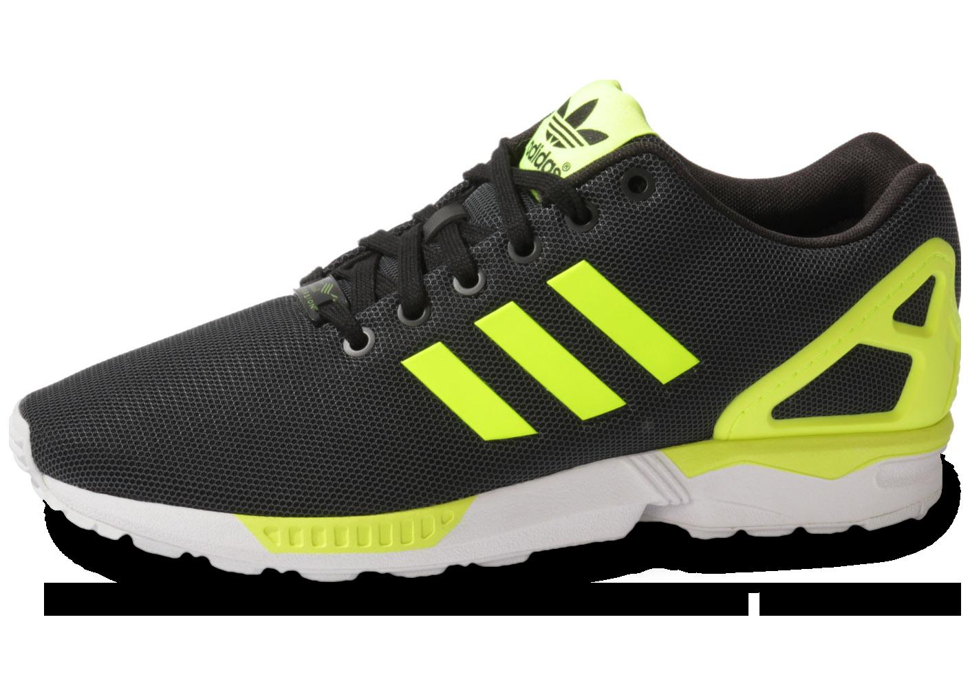 Chaussures Adidas Zx Flux Homme Noir Ju940 e234bdb33387