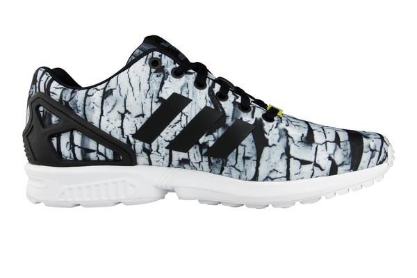 adidas zx flux homme gris blanc