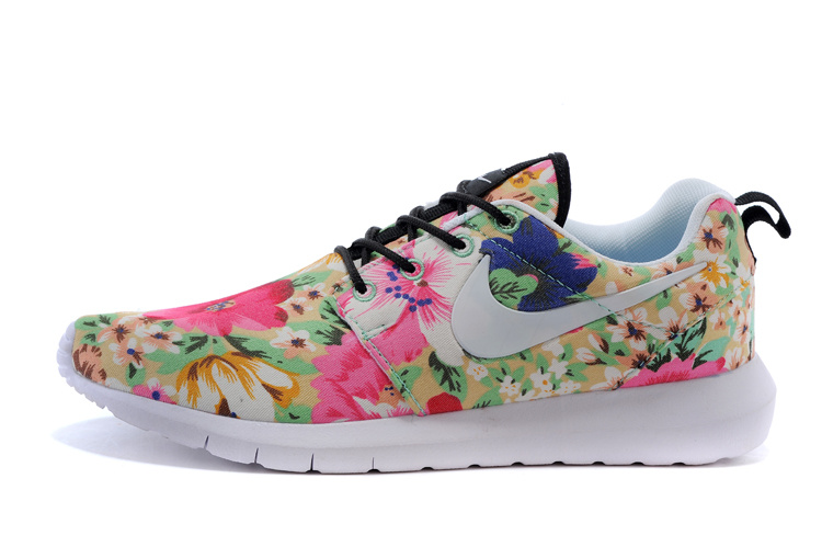 newest collection ca590 22a91 Nike Roshe Run Femme Fleur Boutique JAR749